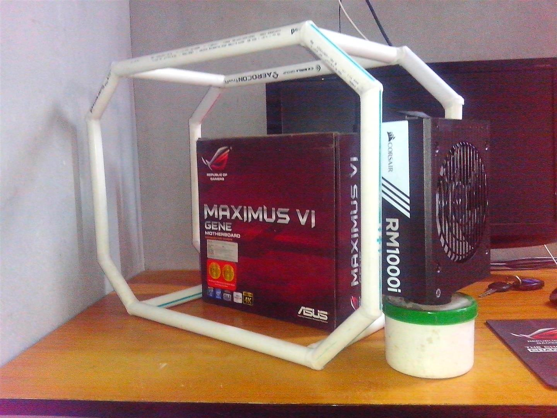 Scratch Open Frame Case Build at PC TeK REVIEWS