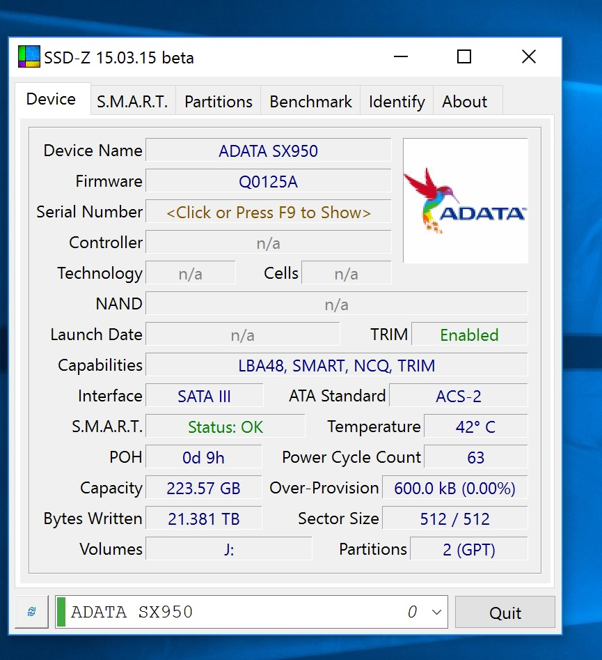 ADATA XPG SX950 240GB SSD Review - PC TeK REVIEWS