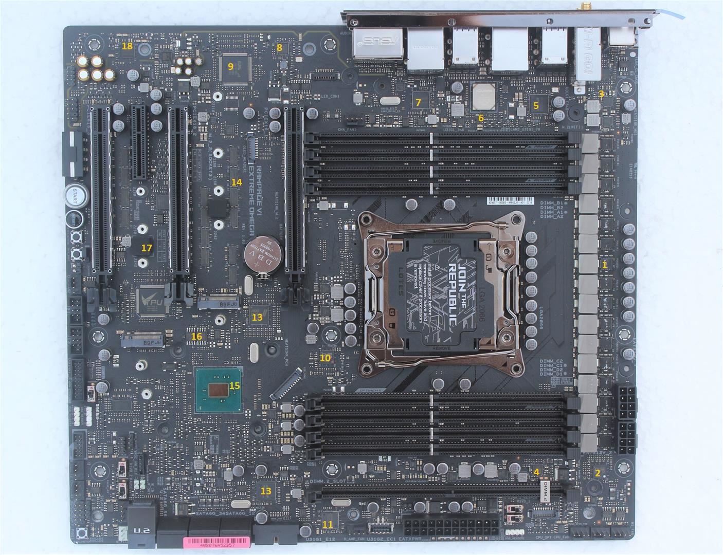 ASUS ROG RAMPAGE VI EXTREME OMEGA Motherboard Review - PC TeK REVIEWS