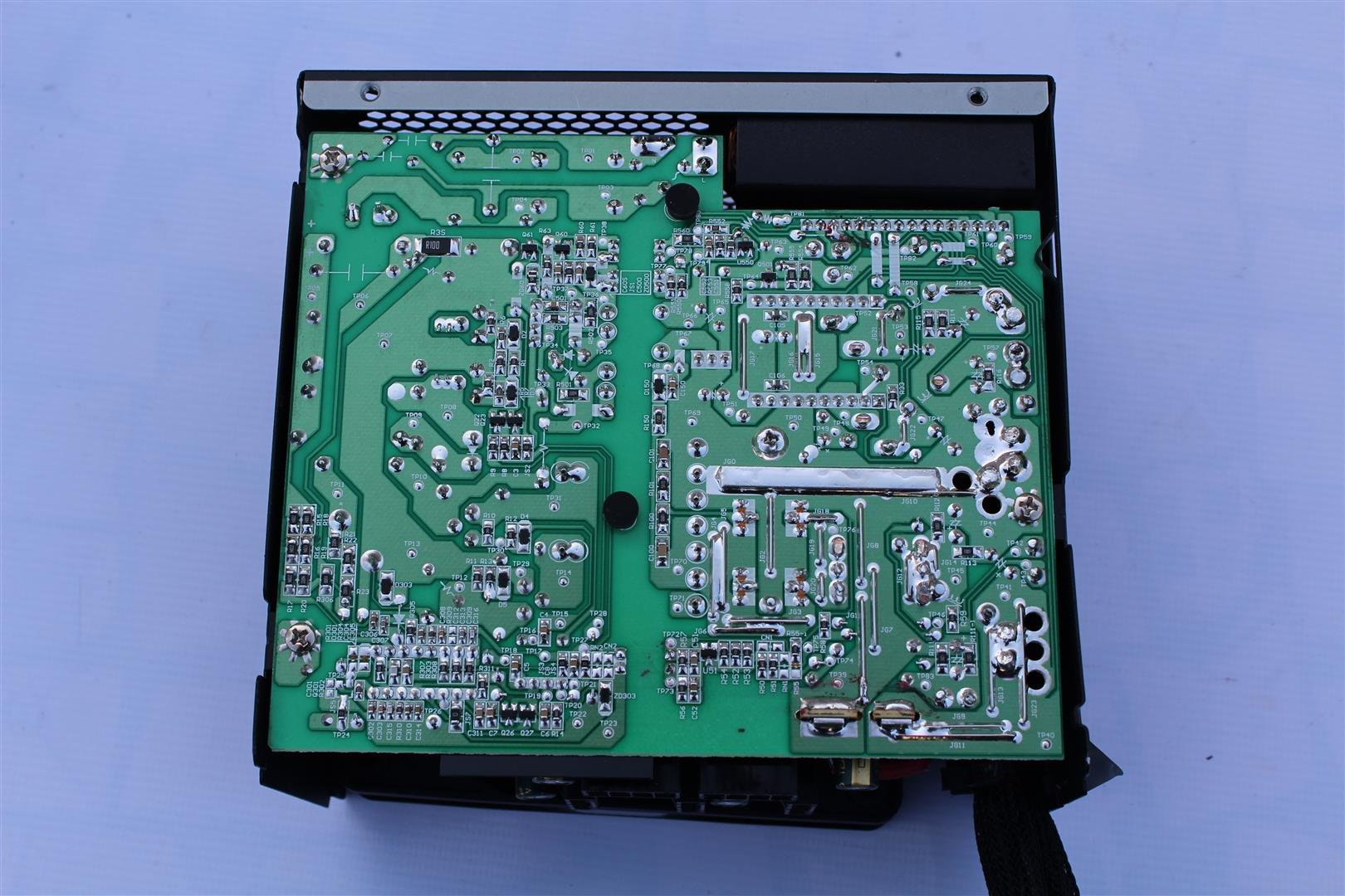 The build quality of Cooler Master MASTERWATT 750 power supply board is  very high.