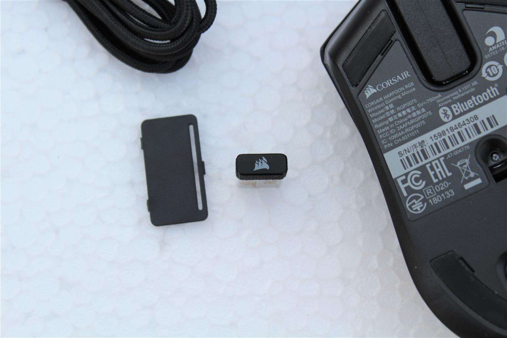 CORSAIR HARPOON RGB Wireless Mouse Review - PC TeK REVIEWS