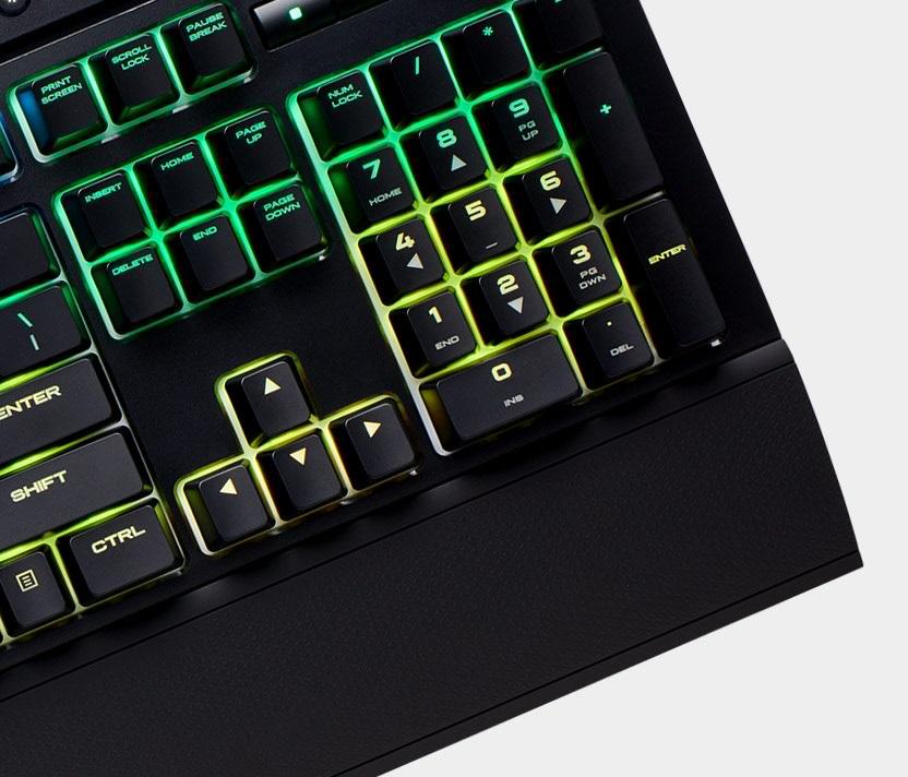 Corsair K68 Rgb Mechanical Gaming Keyboard Review Pc Tek
