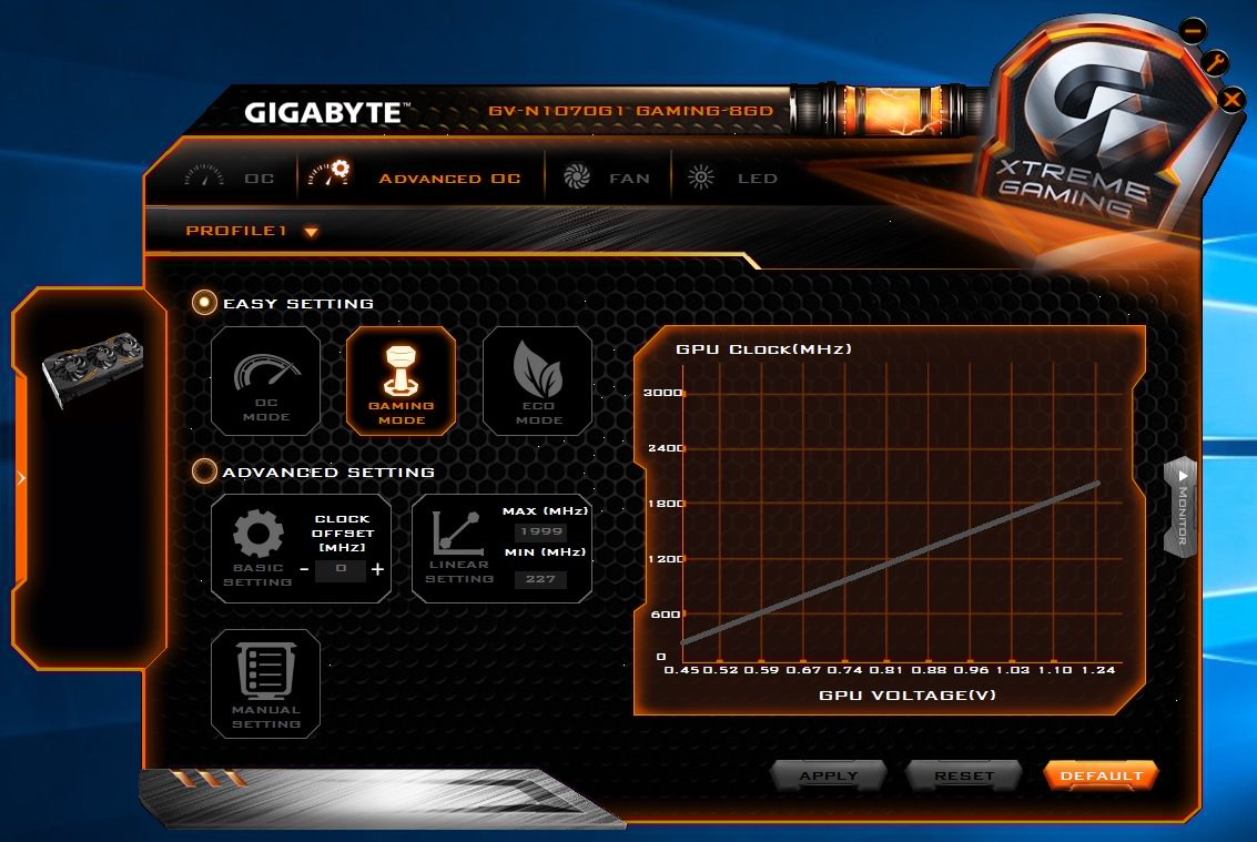Gigabyte Geforce Gtx 1070 G1 Gaming Review Pc Tek Reviews