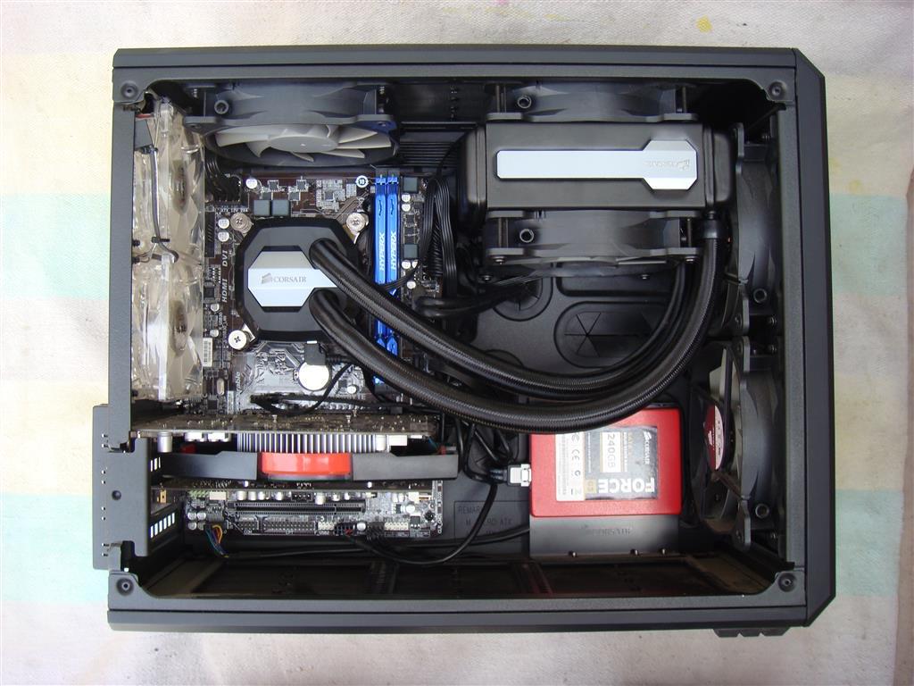Corsair Hydro Series H80i Gt Cpu Cooler Pc Tek Reviews