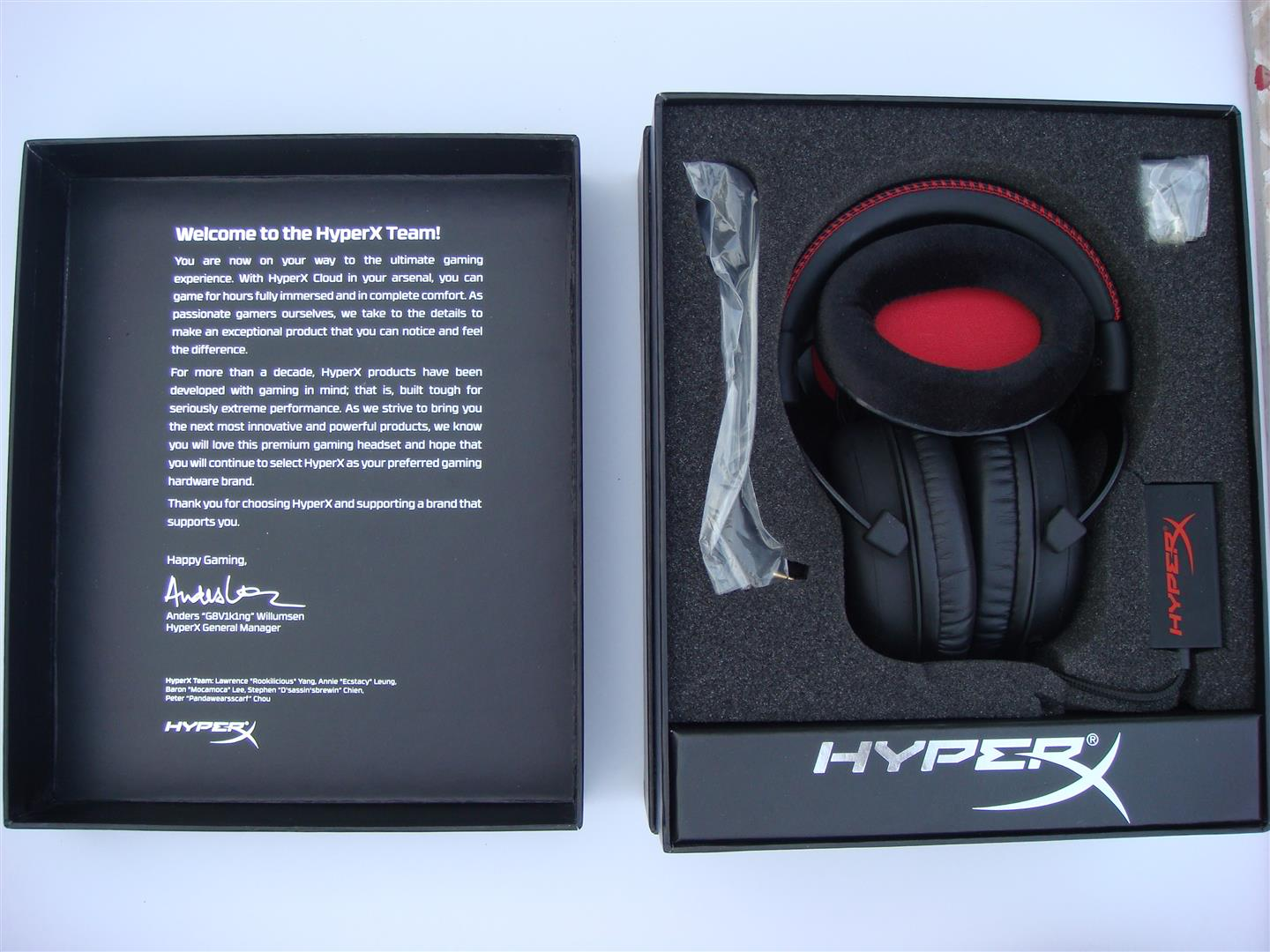 Kind of lining can you expect on the kingston hyperx cloud ii headset - Looks