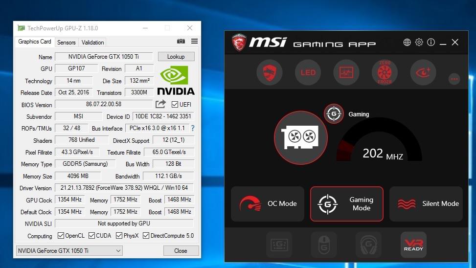 MSI GTX 1050Ti Gaming 4G Review - PC TeK REVIEWS