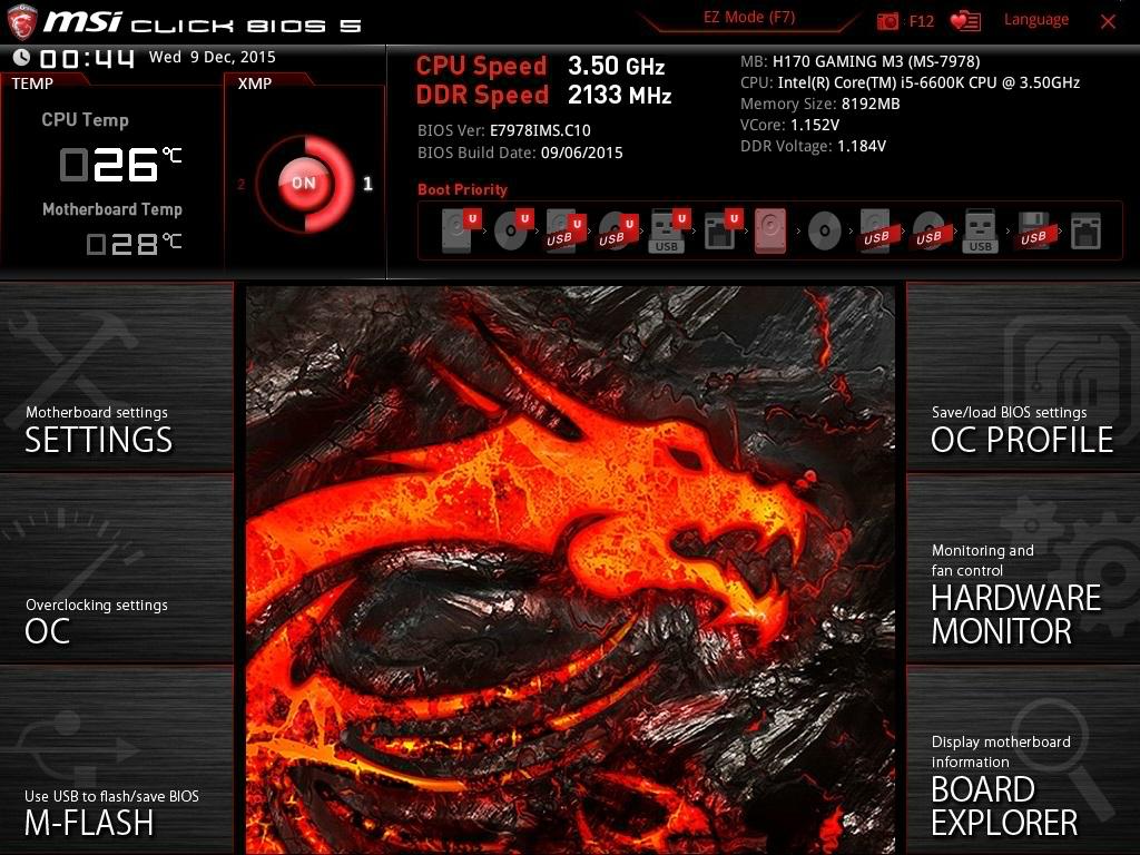 MSI H170 Gaming M3 Motherboard Review - PC TeK REVIEWS