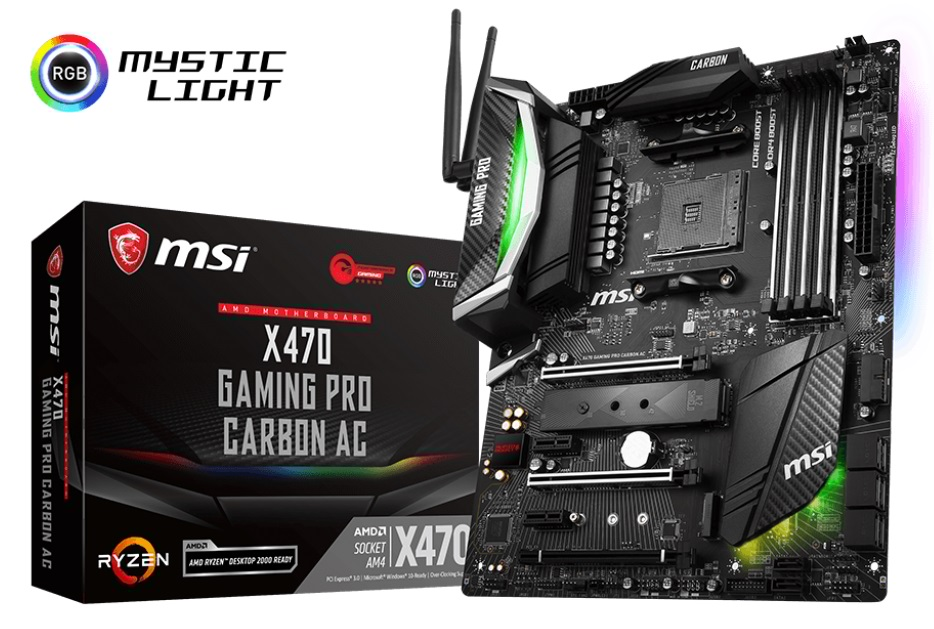 Msi X470 Gaming Pro Carbon Ac Review Pc Tek Reviews