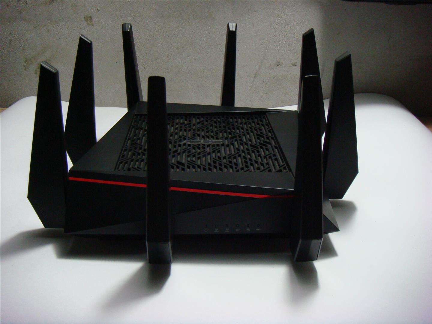 Asus Rt Ac5300 Tri Band Gigabit Router Review Pc Tek Reviews Wireless Ac 5300 Mbps Specifications