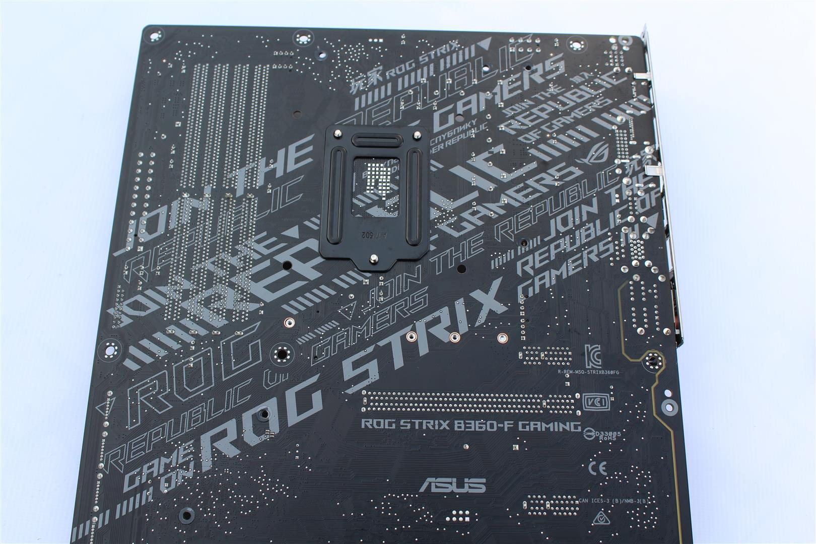 ASUS ROG STRIX B360-F Gaming Motherboard Review - PC TeK REVIEWS