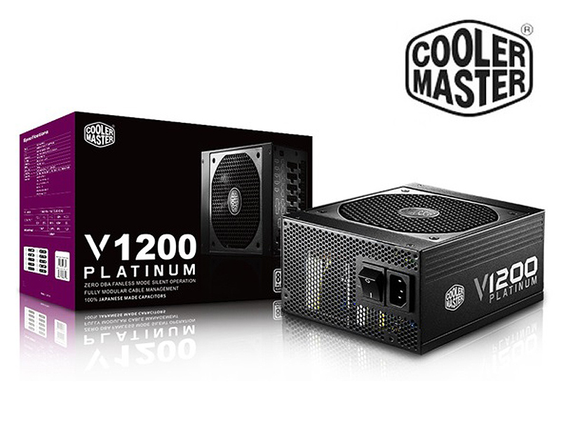Cooler Master V1200 Platinum Power Supply Review- PC TeK REVIEWS