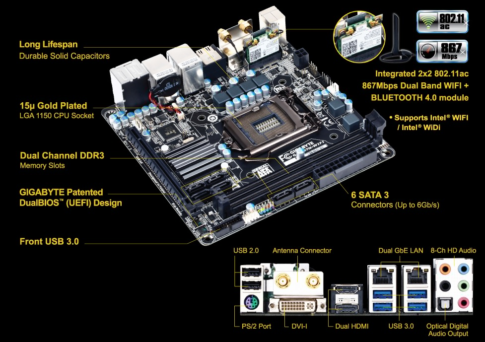 GIGABYTE GA-Z97N-WIFI Motherboard Review - PC TeK REVIEWS