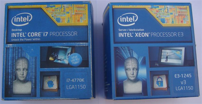 Intel Xeon E3-1245-V3 vs Core i7 4770K - PC TeK REVIEWS